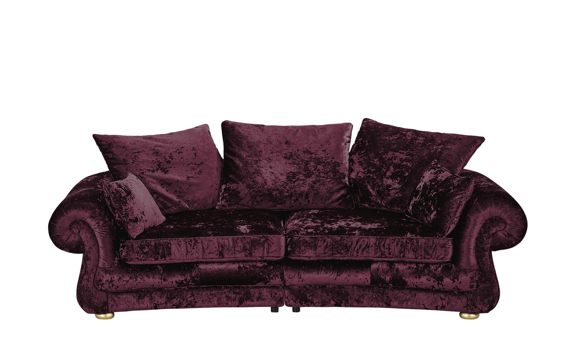 Megasofa  Sensation ¦ lila/violett ¦ Maße (cm): B: 280 H: 82 T: 135 Polstermöbel > Sofas > Einzelsofas - Höffner