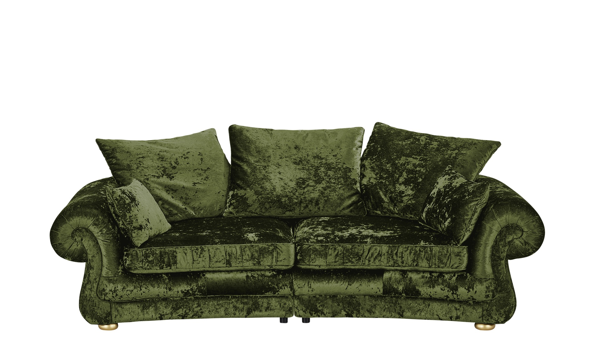 Megasofa  Sensation ¦ grün ¦ Maße (cm): B: 280 H: 82 T: 135 Polstermöbel > Sofas > Einzelsofas - Höffner