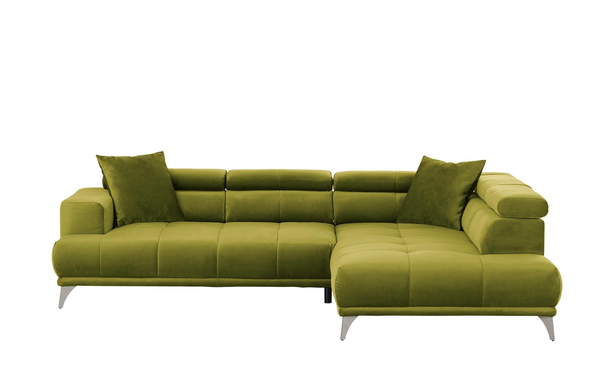 bobb Ecksofa  Arvika ¦ grün ¦ Maße (cm): H: 78 Polstermöbel > Sofas > Ecksofas - Höffner