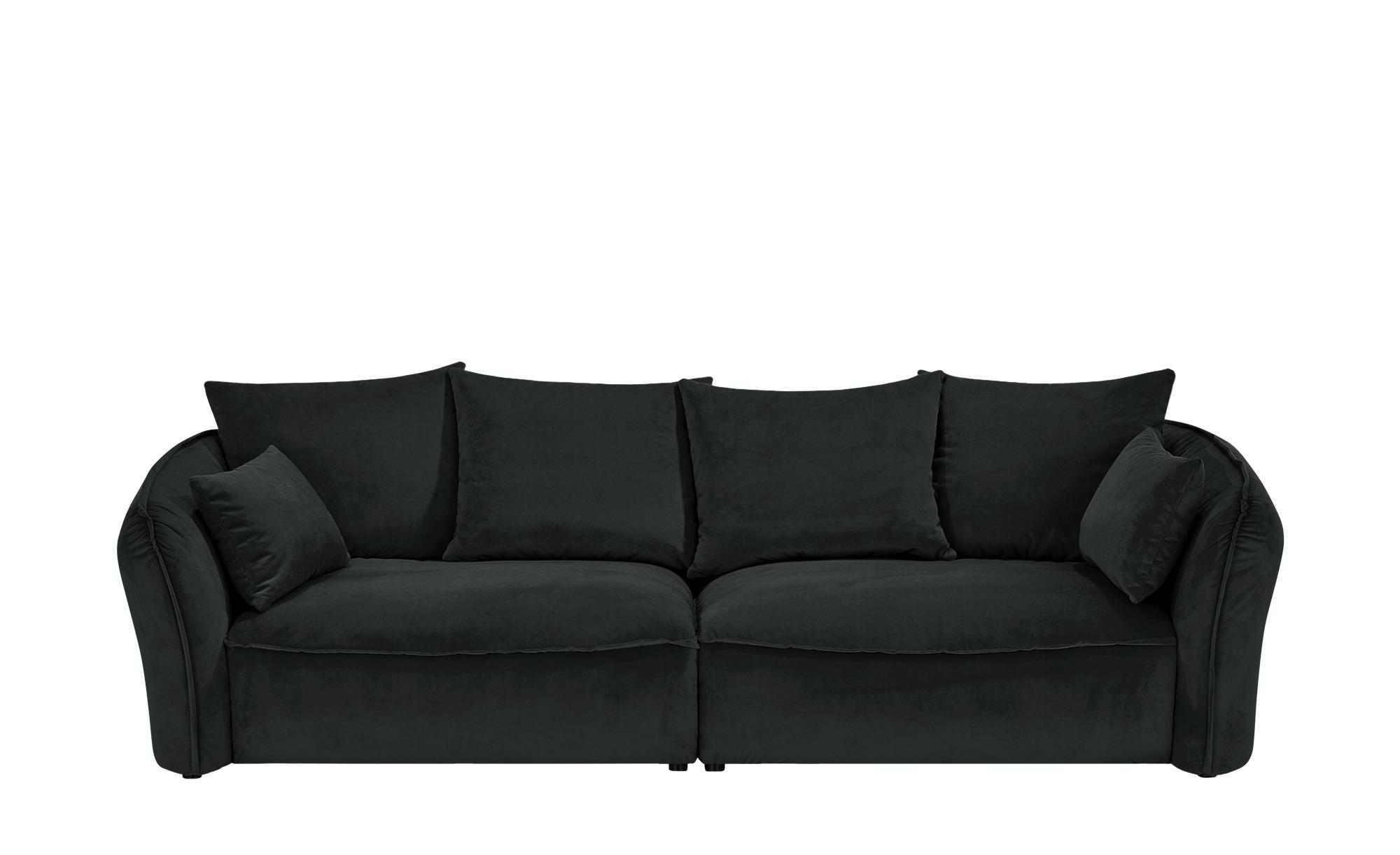 Megasofa  Yale ¦ schwarz ¦ Maße (cm): B: 280 H: 75 T: 118 Polstermöbel > Sofas > Einzelsofas - Höffner