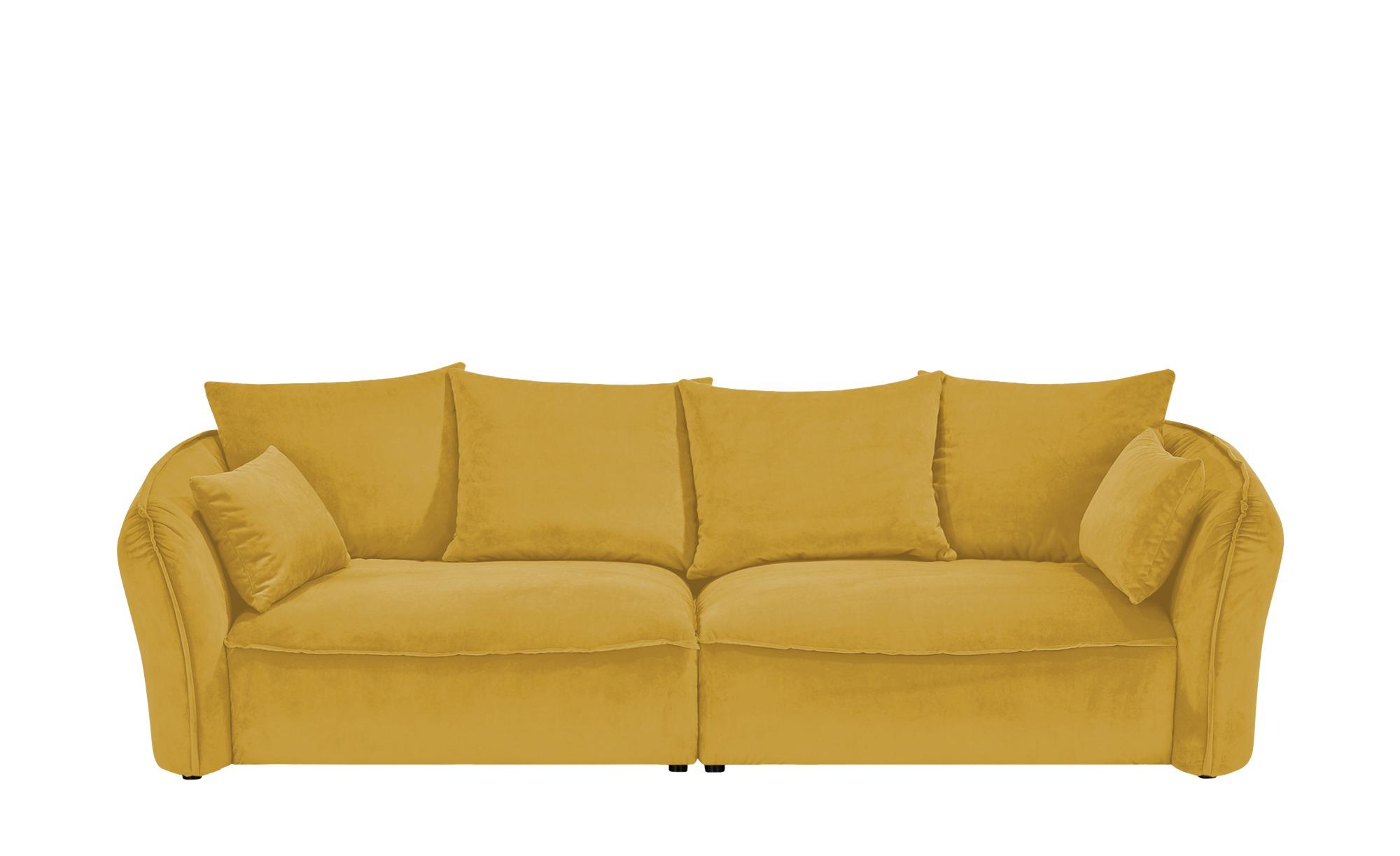 Megasofa  Yale ¦ gelb ¦ Maße (cm): B: 280 H: 75 T: 118 Polstermöbel > Sofas > Einzelsofas - Höffner
