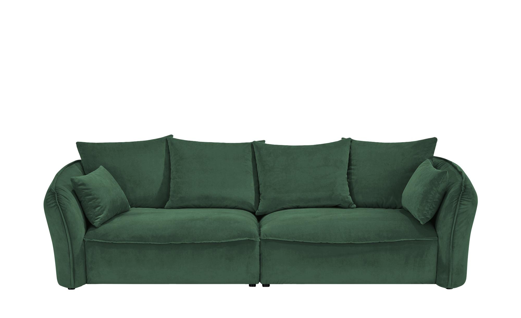 Megasofa  Yale ¦ grün ¦ Maße (cm): B: 280 H: 75 T: 118 Polstermöbel > Sofas > Einzelsofas - Höffner