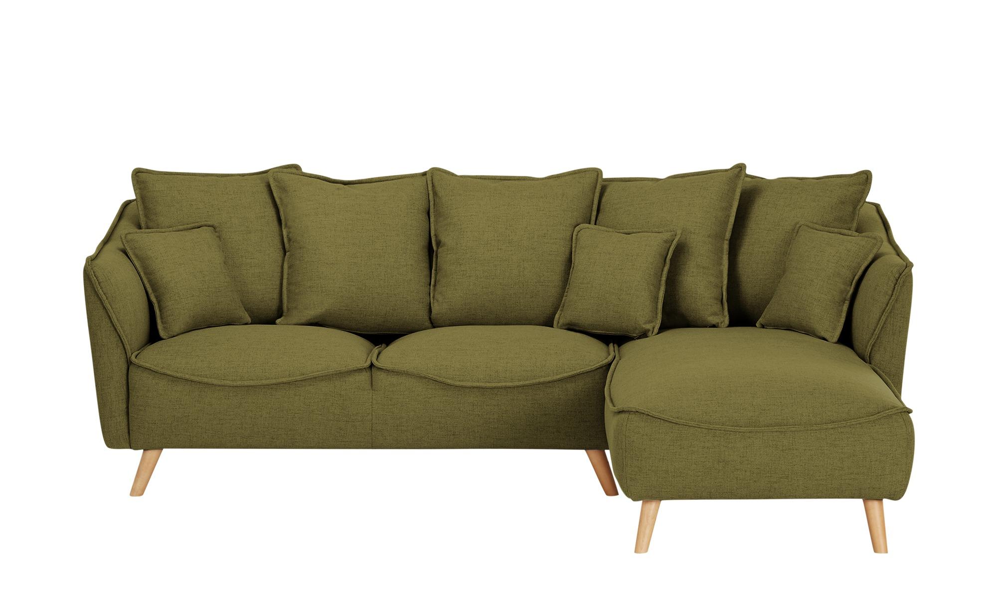 Ecksofa  Vejen ¦ grün ¦ Maße (cm): H: 80 Polstermöbel > Sofas > Ecksofas - Höffner