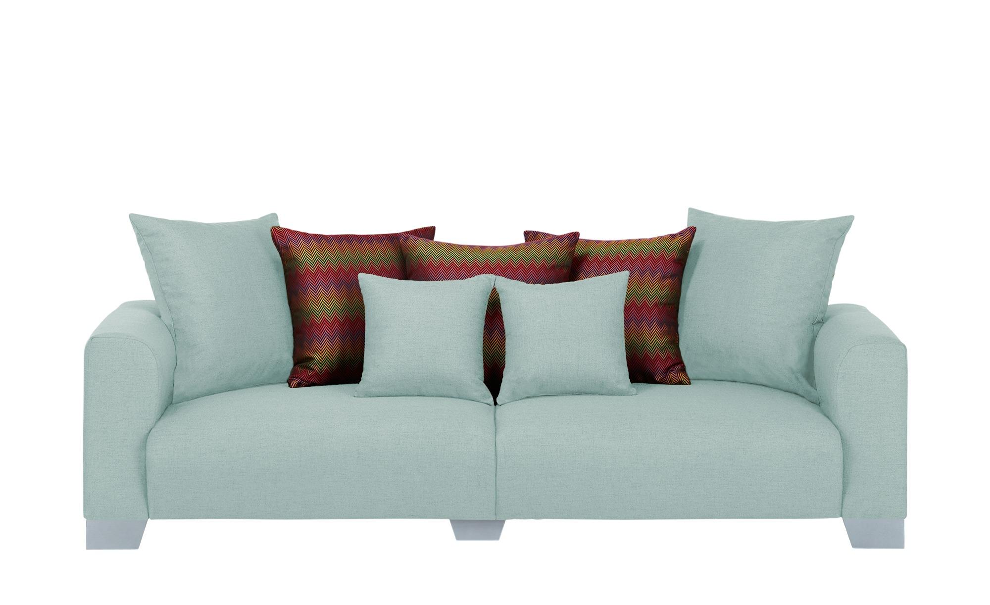 smart Big Sofa  Tonja ¦ blau ¦ Maße (cm): B: 244 H: 68 T: 107 Polstermöbel > Sofas > Big-Sofas - Höffner