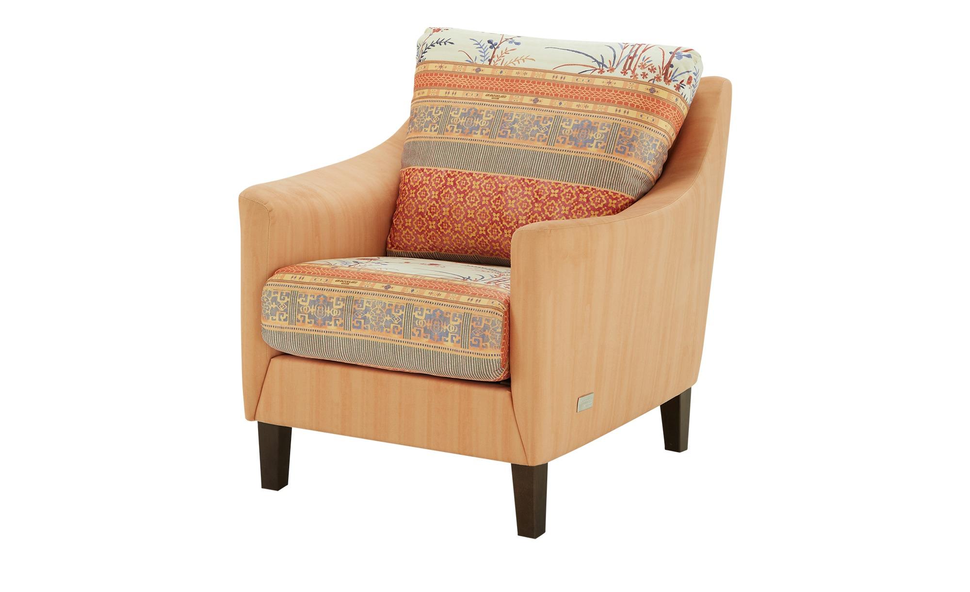 bassetti by SCHRÖNO Sessel  Ancona ¦ orange ¦ Maße (cm): B: 84 H: 90 T: 92 Polstermöbel > Sessel > Polstersessel - Höffner