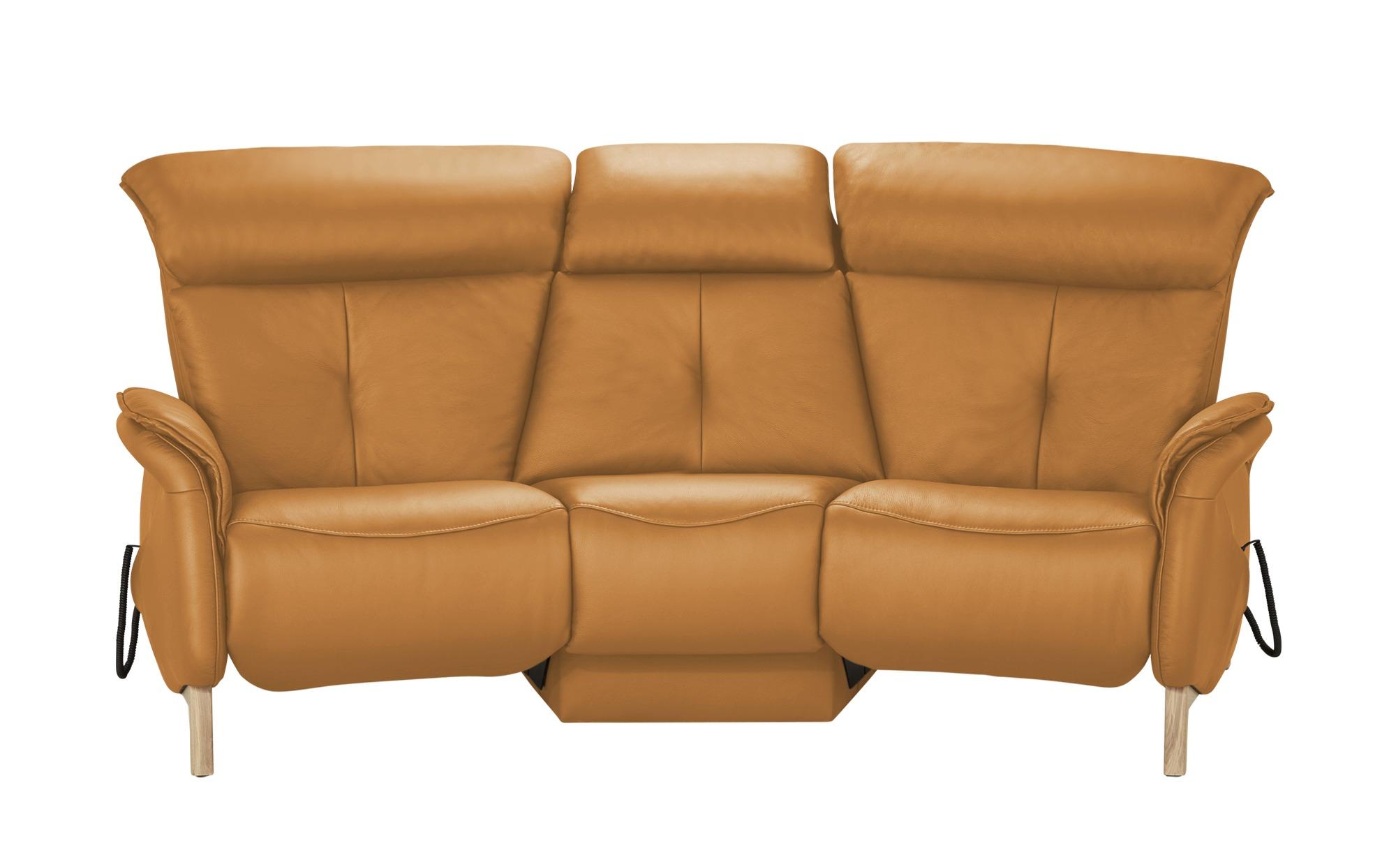 himolla Einzelsofa Leder  4708 ¦ orange ¦ Maße (cm): B: 216 H: 97 T: 119 Polstermöbel > Sofas > 2-Sitzer - Höffner