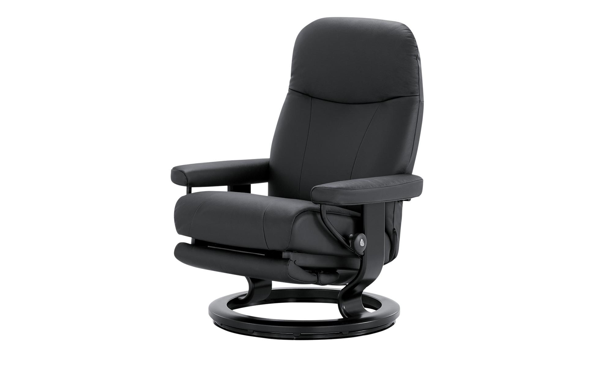 Stressless Sessel mit elektr. Relaxfunktion  Garda M ¦ schwarz ¦ Maße (cm): B: 76 H: 100 T: 71 Polstermöbel > Sessel > Fernsehsessel - Höffner
