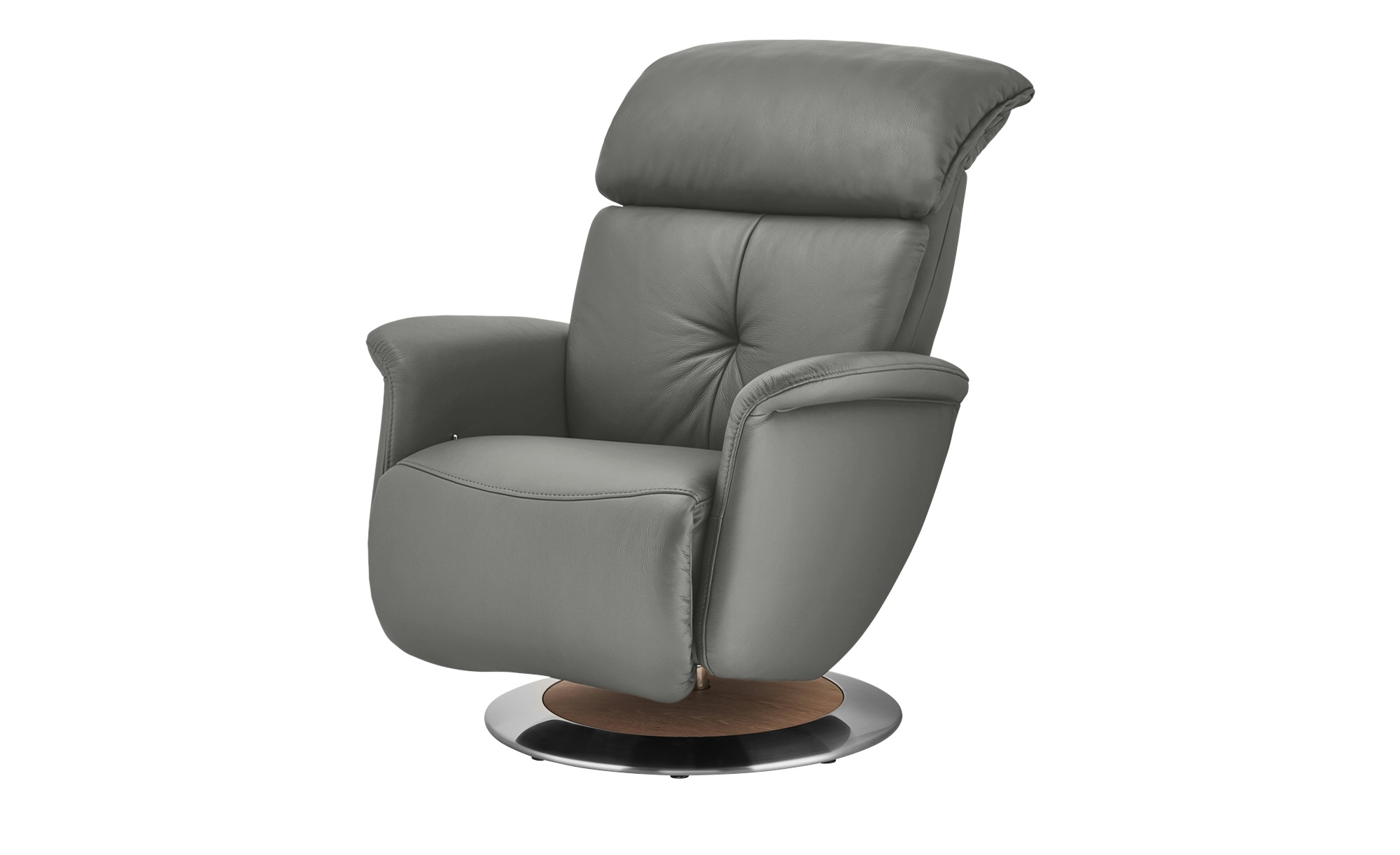 himolla Funktionssessel  7708 ¦ grau ¦ Maße (cm): B: 79 H: 99 T: 101 Polstermöbel > Sessel > Ledersessel - Höffner
