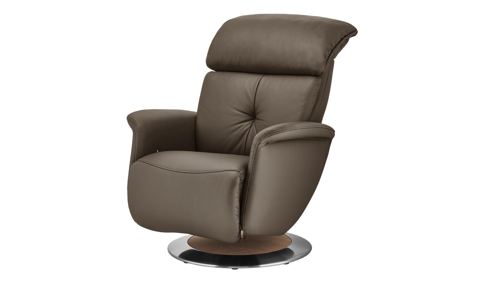 himolla Funktionssessel  7708 ¦ braun ¦ Maße (cm): B: 79 H: 99 T: 101 Polstermöbel > Sessel > Ledersessel - Höffner