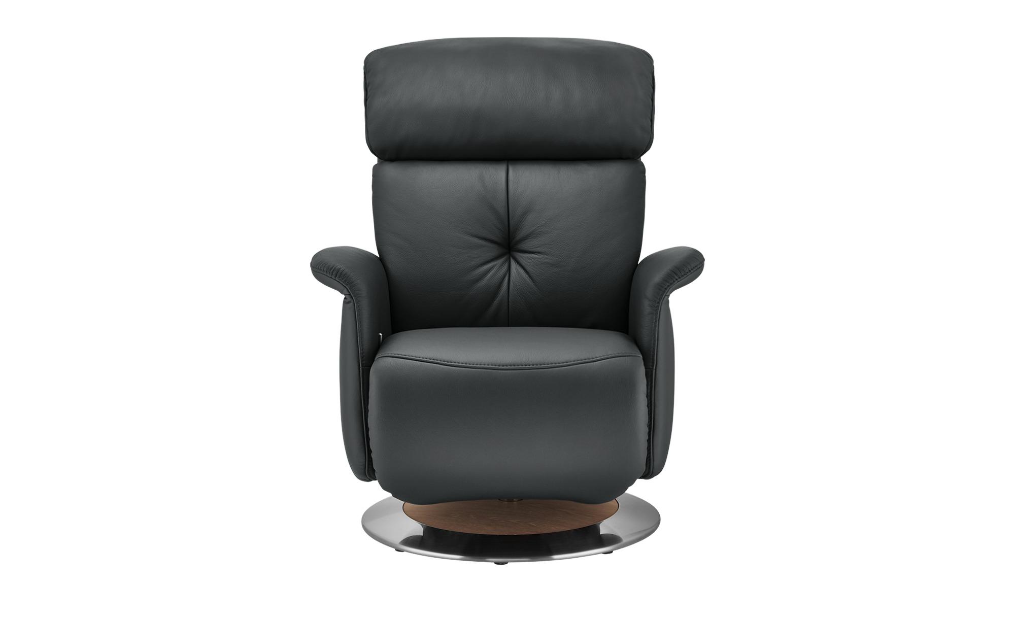 himolla Funktionssessel  7708 ¦ schwarz ¦ Maße (cm): B: 79 H: 97 T: 99 Polstermöbel > Sessel > Ledersessel - Höffner
