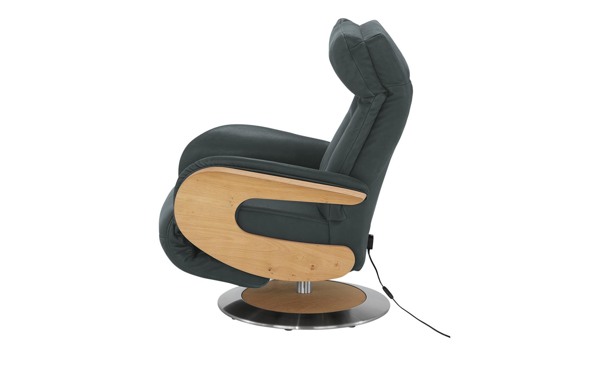 himolla Funktionssessel Leder  7818 ¦ grau ¦ Maße (cm): B: 75 H: 112 T: 87 Polstermöbel > Sessel > Fernsehsessel - Höffner