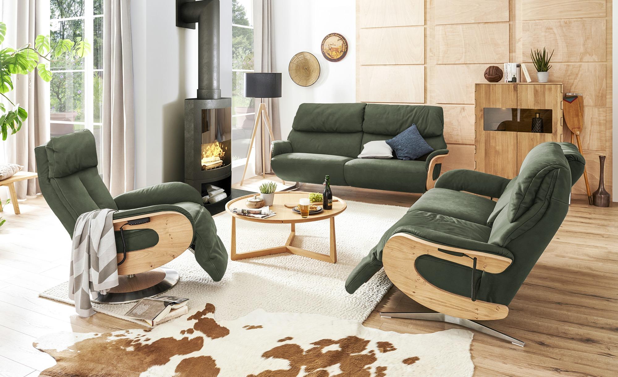 himolla Funktionssessel Leder  7818 ¦ grün ¦ Maße (cm): B: 75 H: 112 T: 87 Polstermöbel > Sessel > Fernsehsessel - Höffner