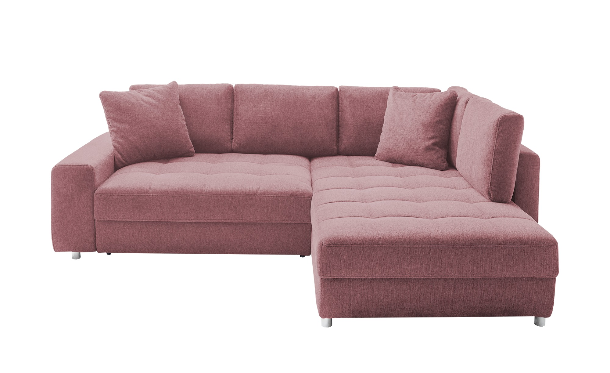 bobb Ecksofa  Arissa de Luxe ¦ rosa/pink ¦ Maße (cm): H: 84 Polstermöbel > Sofas > Ecksofas - Höffner