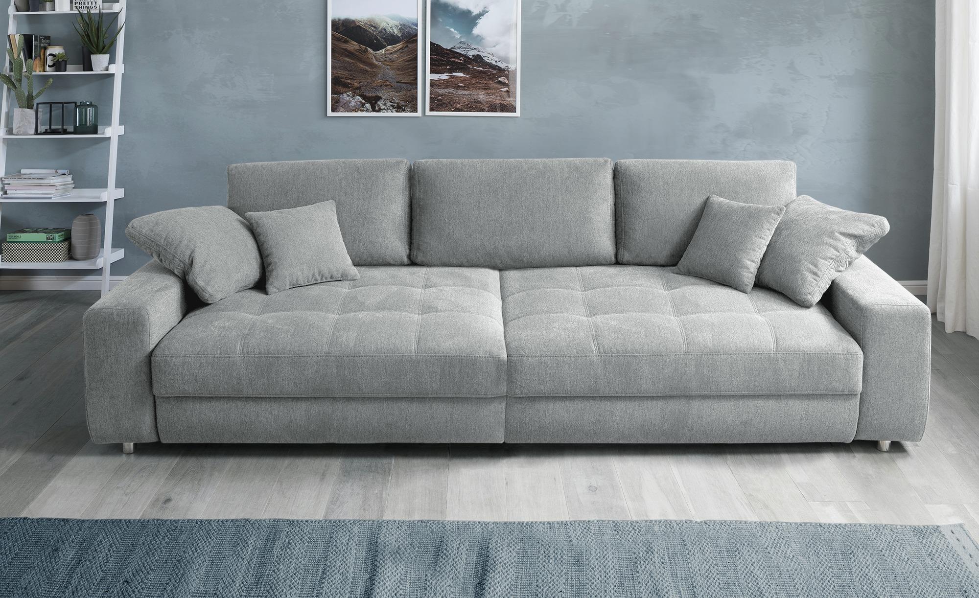 bobb Big Sofa  Arissa de Luxe ¦ grau ¦ Maße (cm): B: 292 H: 84 T: 120 Polstermöbel > Sofas > Big-Sofas - Höffner