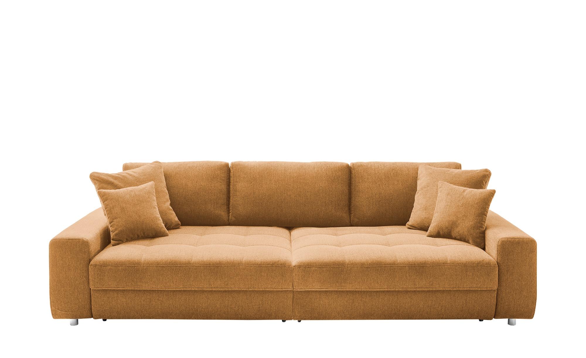 bobb Big Sofa  Arissa de Luxe ¦ gelb ¦ Maße (cm): B: 292 H: 84 T: 120 Polstermöbel > Sofas > Big-Sofas - Höffner
