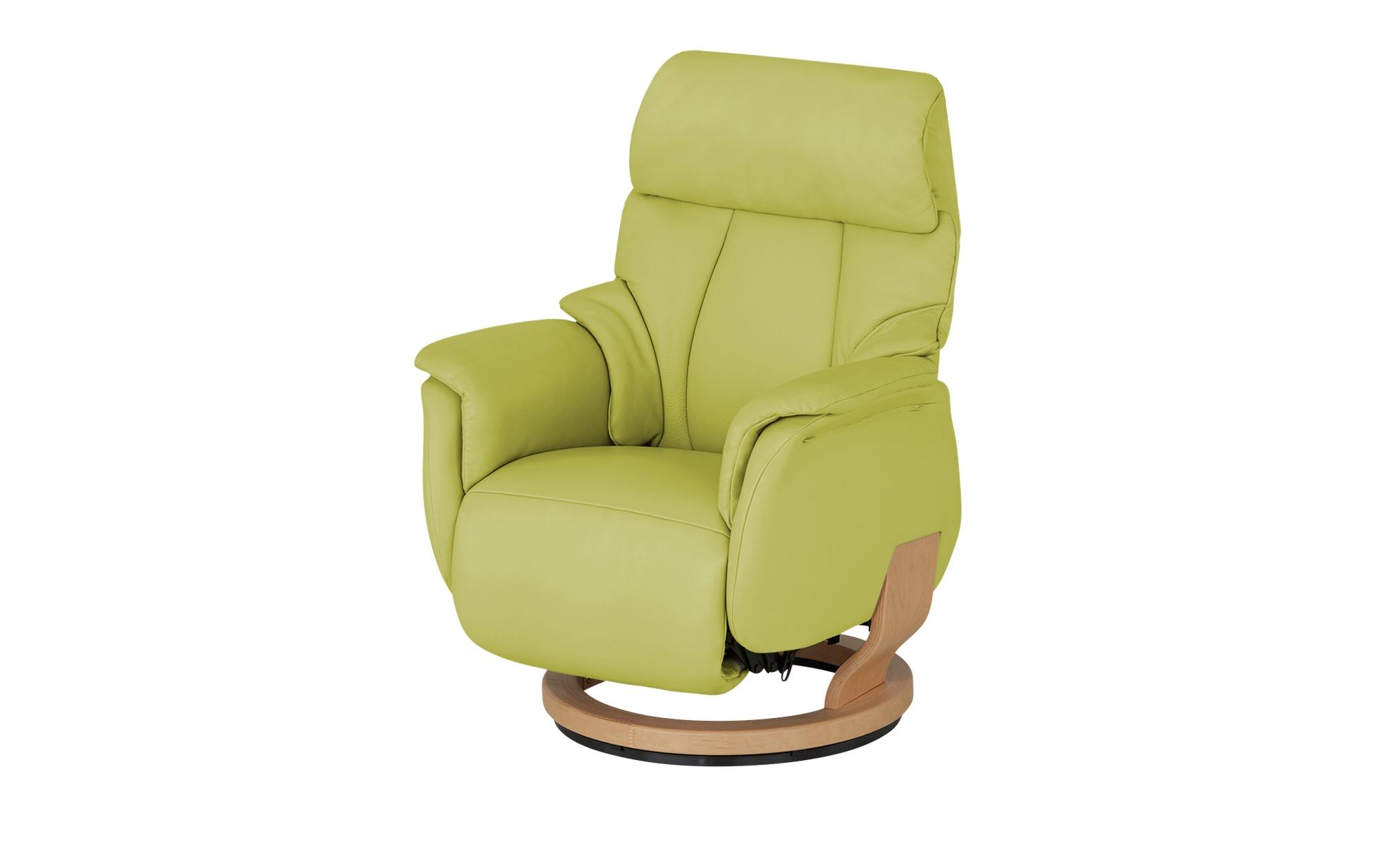 Nils Olsen Drehsessel  Silas ¦ grün ¦ Maße (cm): B: 78 H: 105 T: 89 Polstermöbel > Sessel > Drehsessel - Höffner