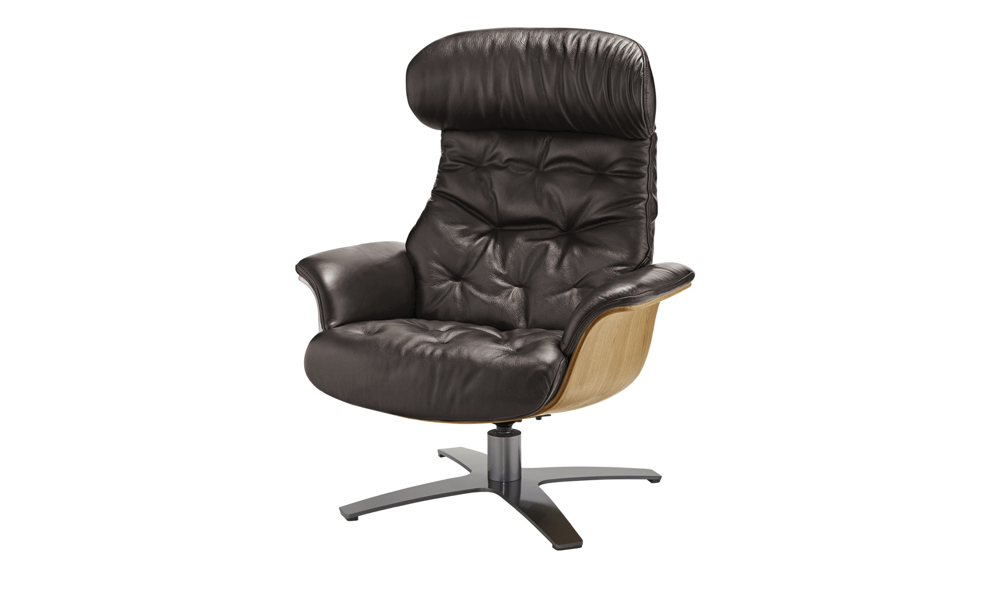 uno Relaxsessel  Charis ¦ braun ¦ Maße (cm): B: 79 H: 100 T: 84 Polstermöbel > Sessel > Ledersessel - Höffner