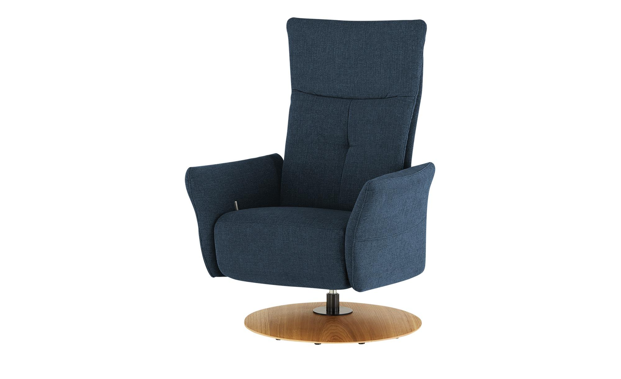 Wohnwert Funktionssessel  Katja ¦ blau ¦ Maße (cm): B: 79 H: 114 T: 80 Polstermöbel > Sessel > Drehsessel - Höffner