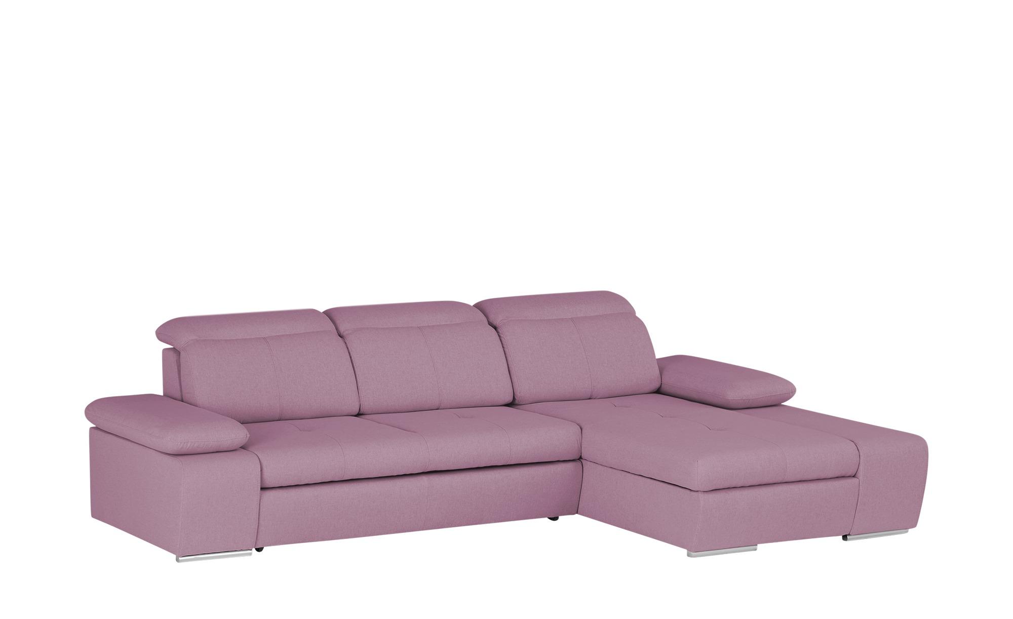 switch Ecksofa  Avilla ¦ rosa/pink ¦ Maße (cm): H: 86 Polstermöbel > Sofas > Ecksofas - Höffner