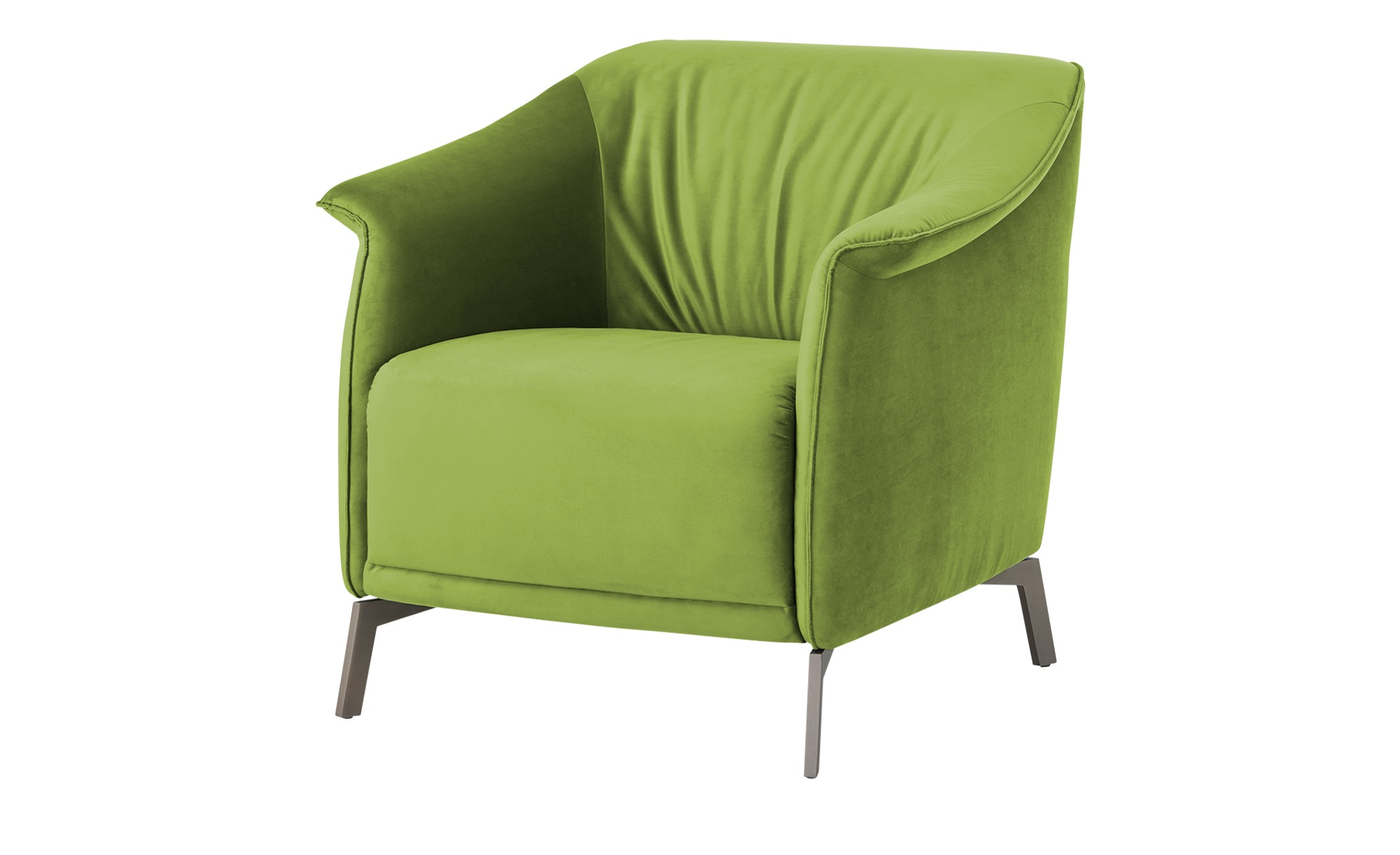 Sessel  Lamia ¦ grün ¦ Maße (cm): B: 80 H: 77 T: 83 Polstermöbel > Sessel > Polstersessel - Höffner