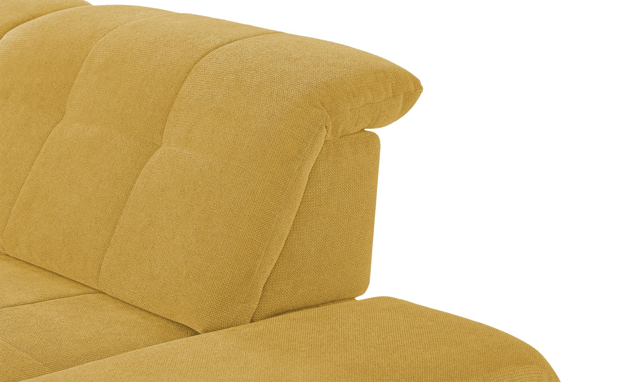 Wohnlandschaft  Spencer ¦ gelb ¦ Maße (cm): H: 102 Polstermöbel > Sofas > Wohnlandschaften - Höffner