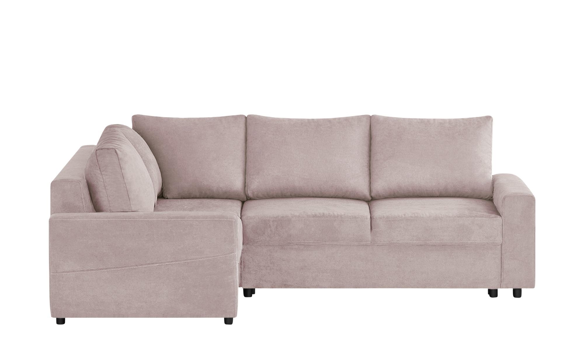 switch Ecksofa  Luna ¦ rosa/pink ¦ Maße (cm): H: 90 Polstermöbel > Sofas > Ecksofas - Höffner