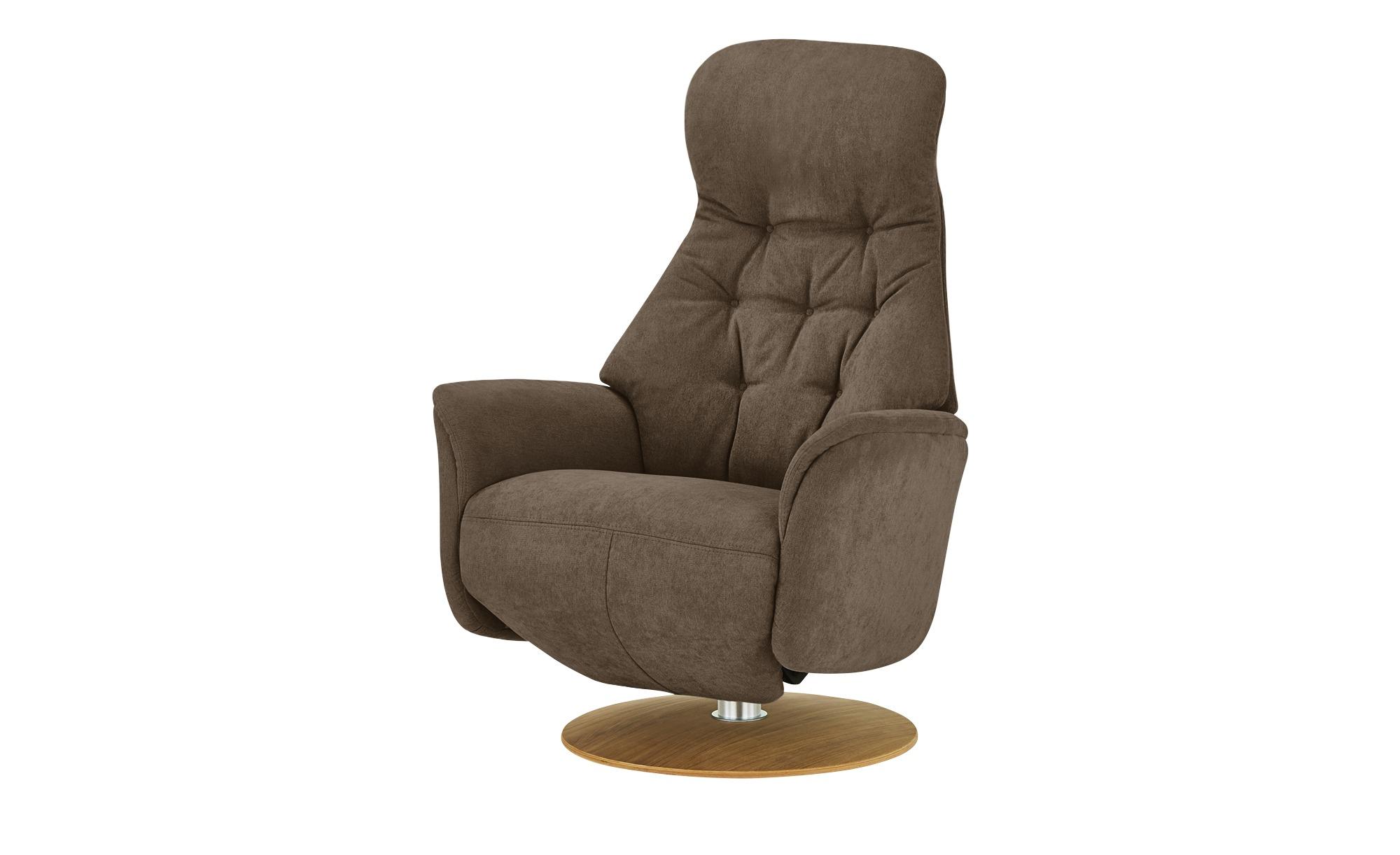 Nils Olsen Relaxsessel  Arend ¦ braun ¦ Maße (cm): B: 74 H: 110 T: 80 Polstermöbel > Sessel > Fernsehsessel - Höffner