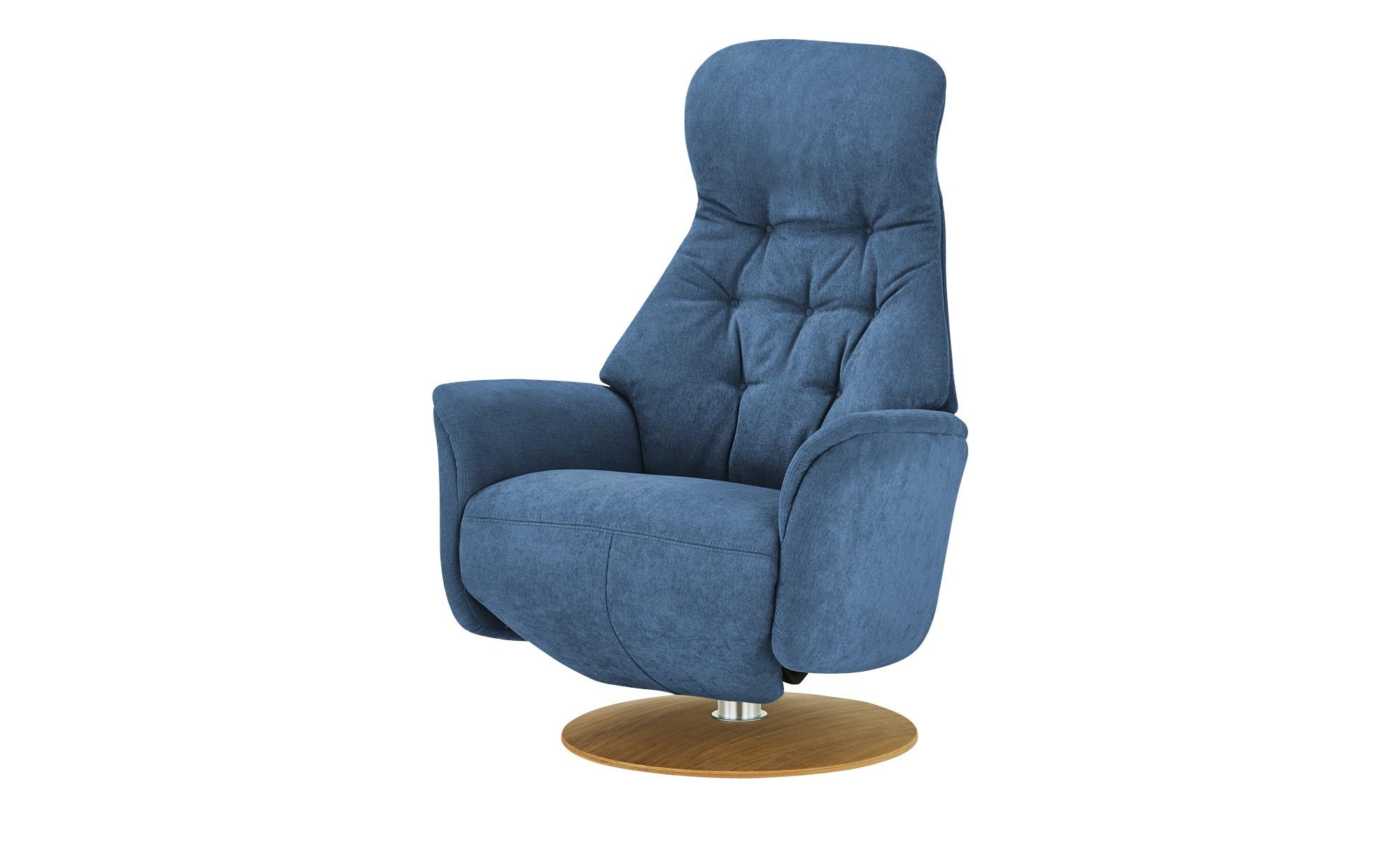 Nils Olsen Relaxsessel  Arend ¦ blau ¦ Maße (cm): B: 74 H: 110 T: 80 Polstermöbel > Sessel > Fernsehsessel - Höffner