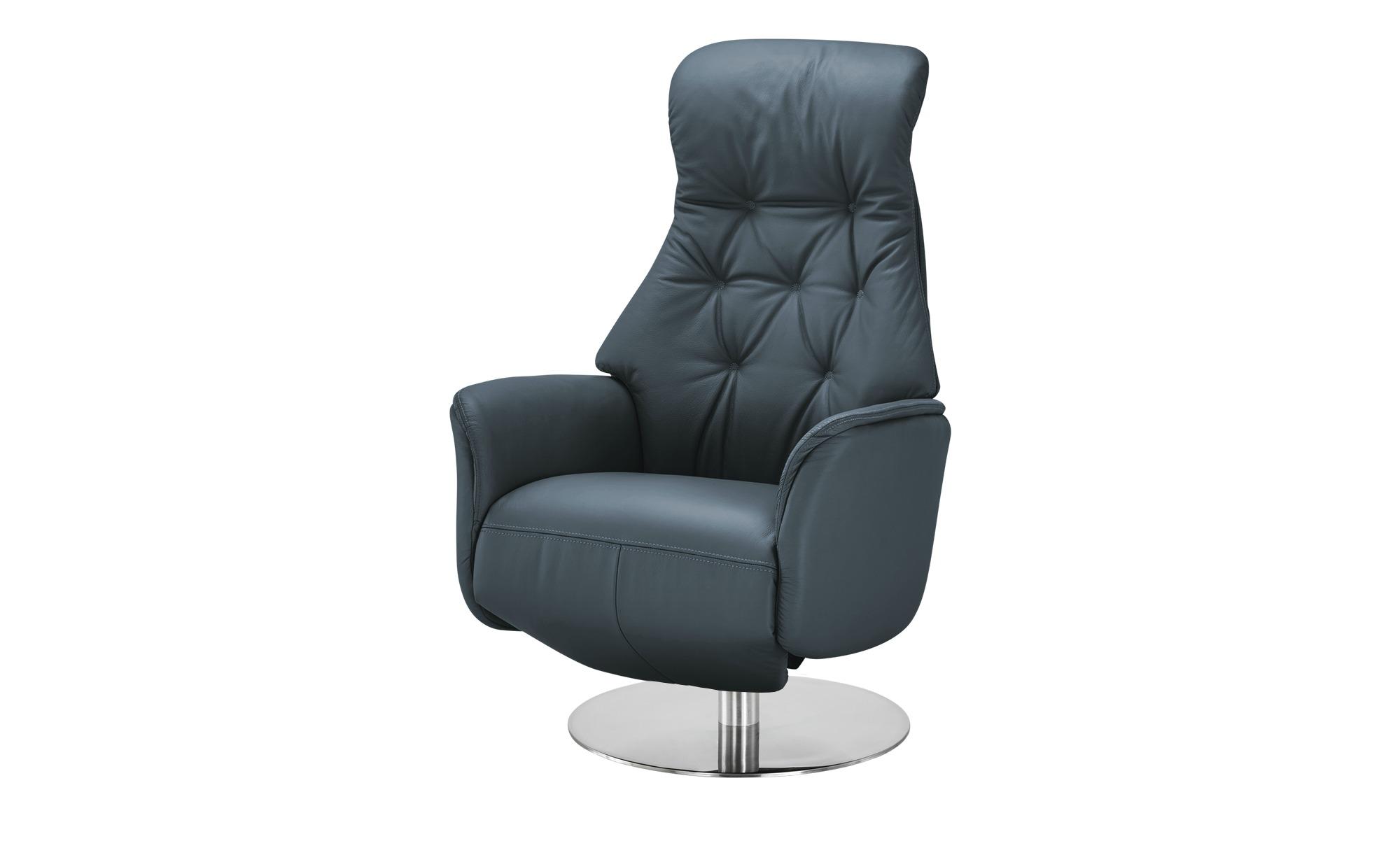 Nils Olsen Funktionssessel  Arend ¦ blau ¦ Maße (cm): B: 74 H: 114 T: 80 Polstermöbel > Sessel > Drehsessel - Höffner