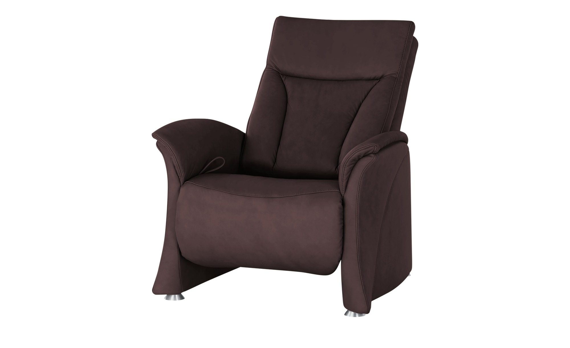 himolla Sessel mit Relaxfunktion  4010 ¦ rot ¦ Maße (cm): B: 87 H: 108 T: 88 Polstermöbel > Sessel > Ledersessel - Höffner