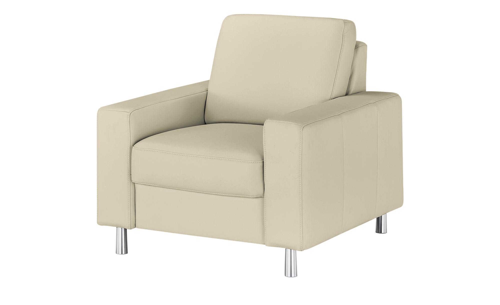 meinSofa Sessel  Byron ¦ grau ¦ Maße (cm): B: 88 H: 86 T: 95 Polstermöbel > Sessel > Ledersessel - Höffner
