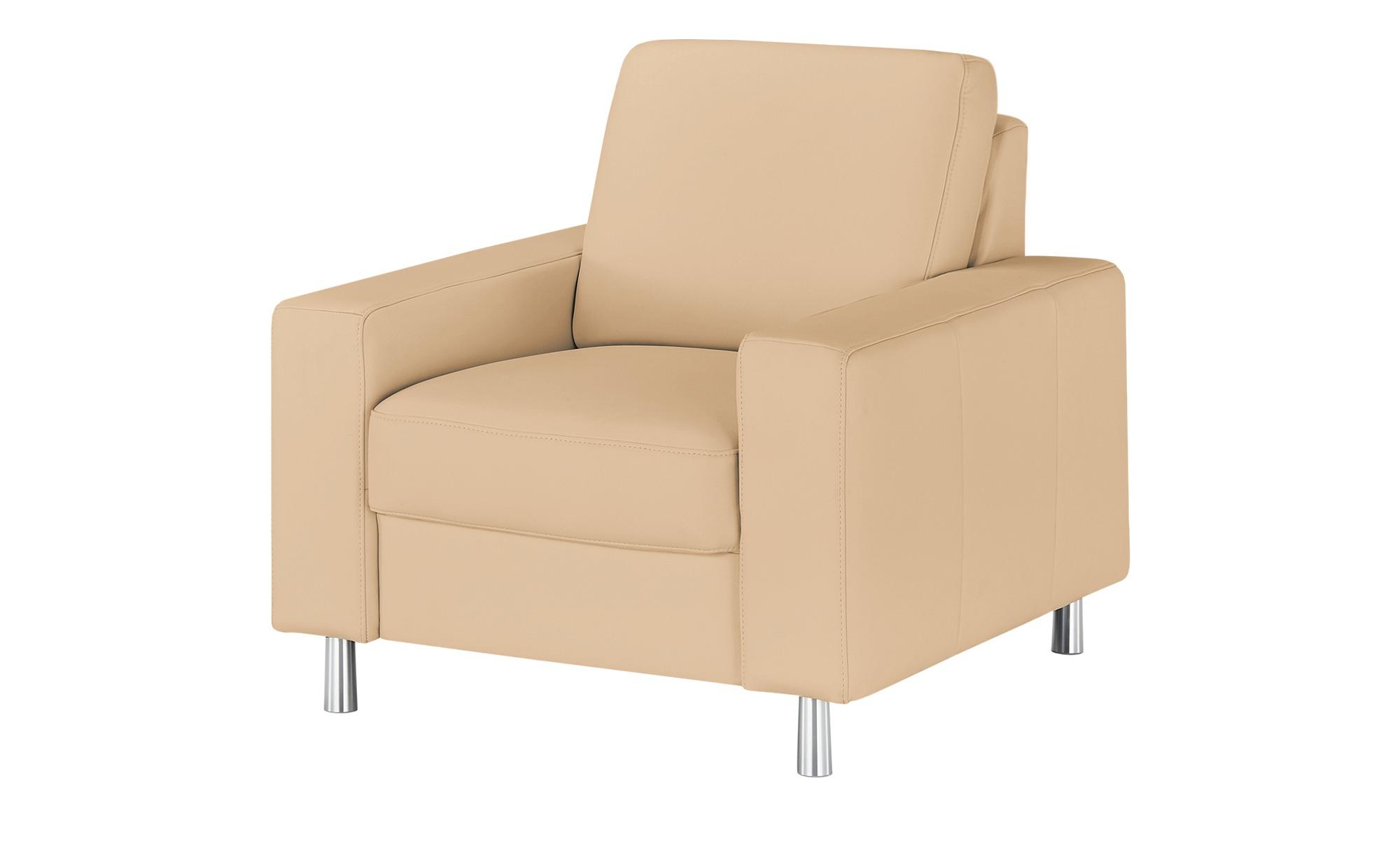 meinSofa Sessel  Byron ¦ braun ¦ Maße (cm): B: 88 H: 86 T: 95 Polstermöbel > Sessel > Ledersessel - Höffner