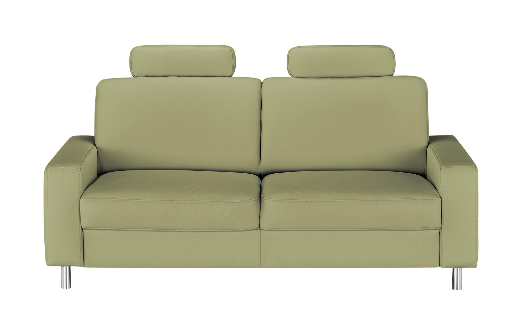 meinSofa Einzelsofa  Byron ¦ grün ¦ Maße (cm): B: 192 H: 86 T: 95 Polstermöbel > Sofas > 3-Sitzer - Höffner