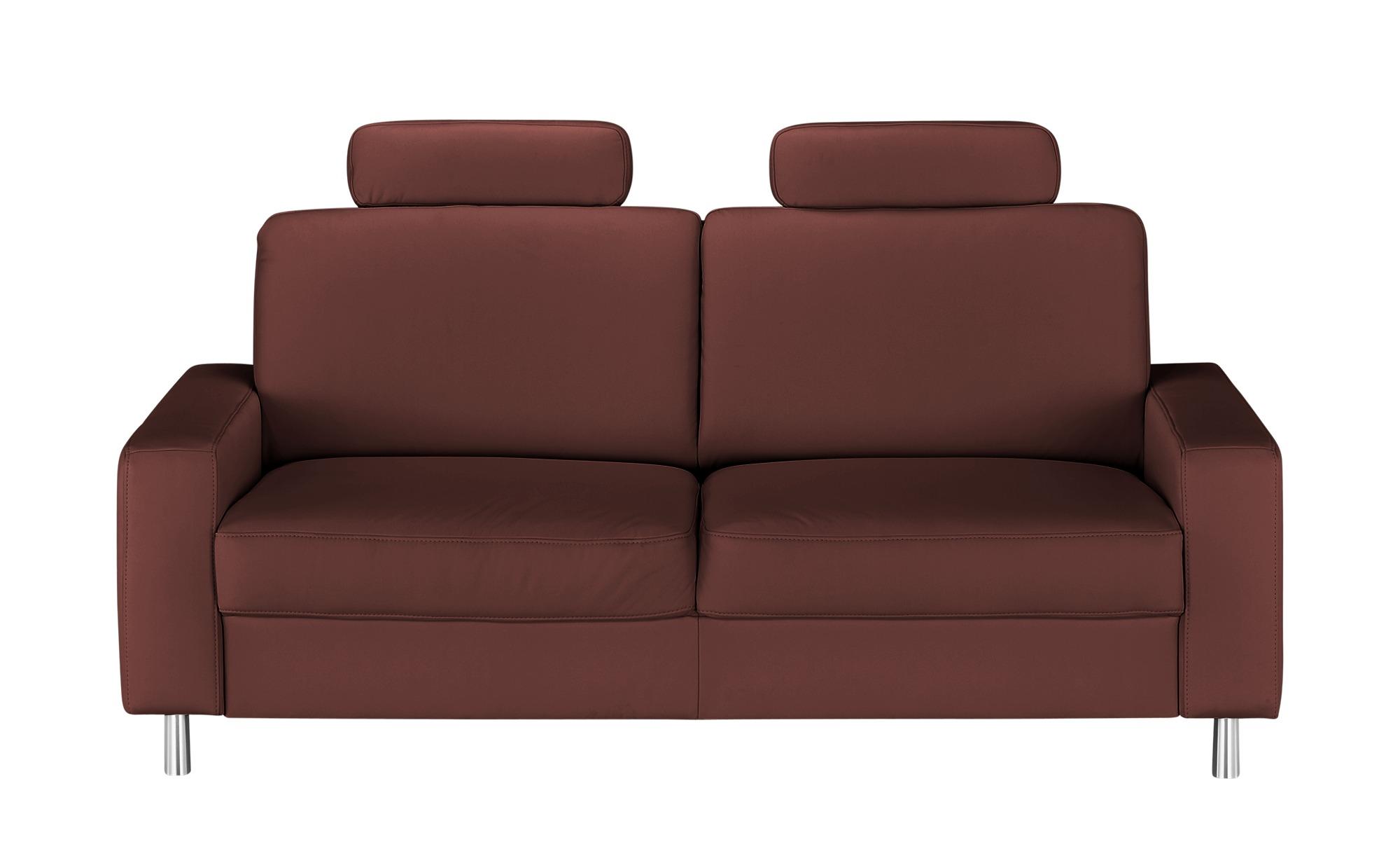 meinSofa Einzelsofa  Byron ¦ rot ¦ Maße (cm): B: 192 H: 86 T: 95 Polstermöbel > Sofas > 3-Sitzer - Höffner