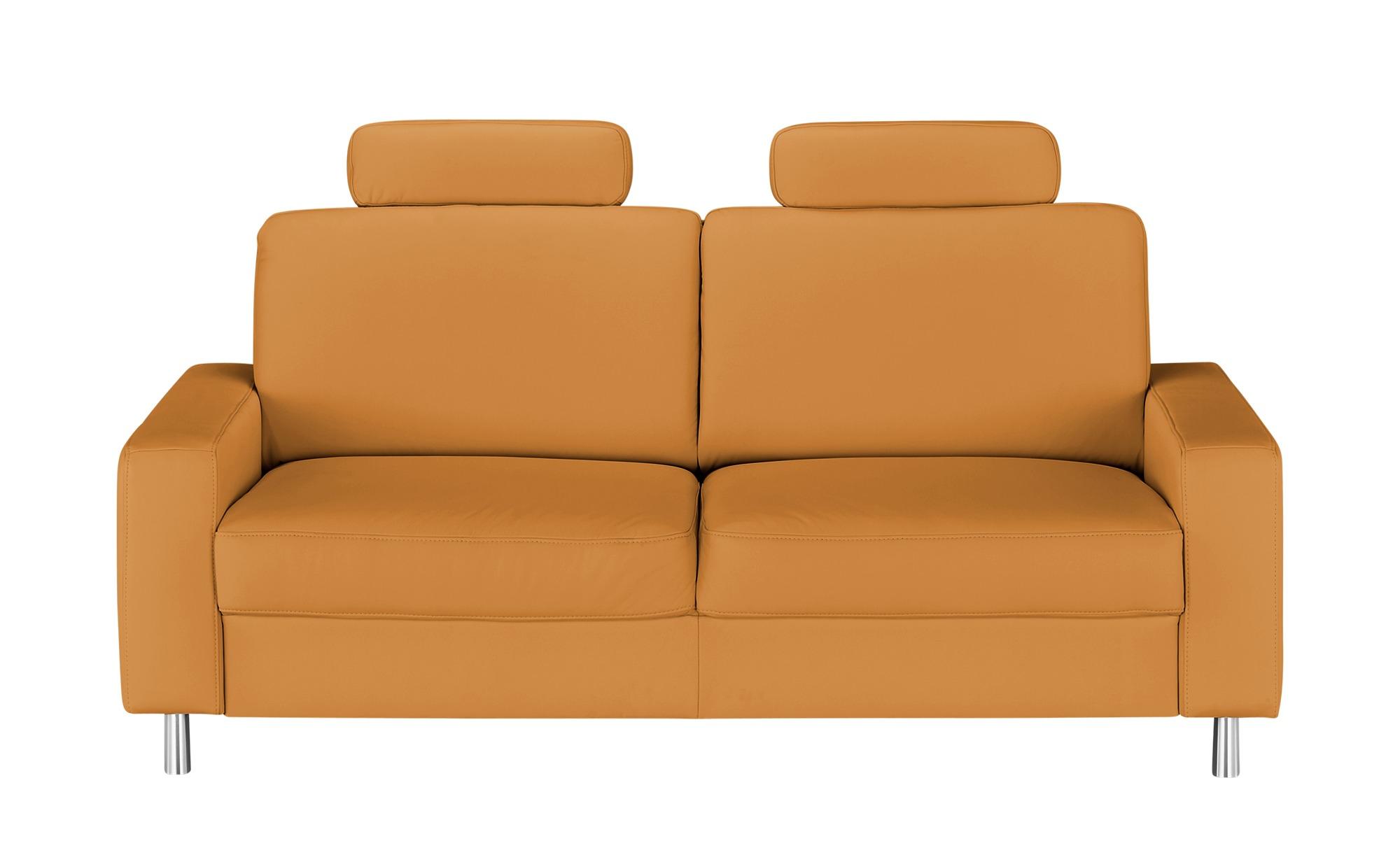 meinSofa Einzelsofa  Byron ¦ orange ¦ Maße (cm): B: 192 H: 86 T: 95 Polstermöbel > Sofas > 3-Sitzer - Höffner