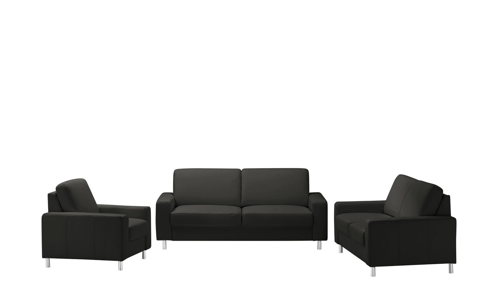 meinSofa Sitzgruppe  Byron ¦ schwarz Polstermöbel > Sofas > Sitzgruppen - Höffner
