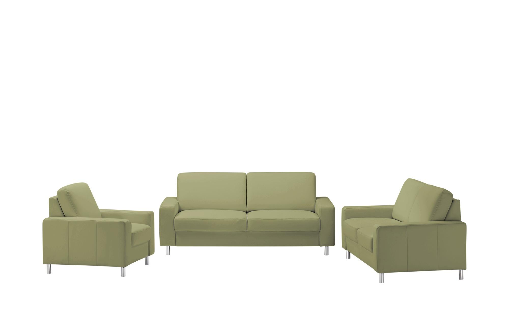 meinSofa Sitzgruppe  Byron ¦ grün Polstermöbel > Sofas > Sitzgruppen - Höffner