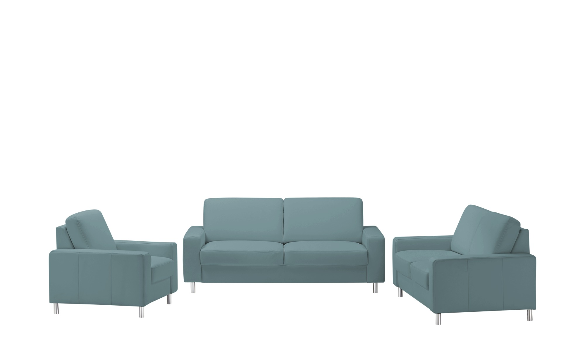 meinSofa Sitzgruppe  Byron ¦ grau Polstermöbel > Sofas > Sitzgruppen - Höffner