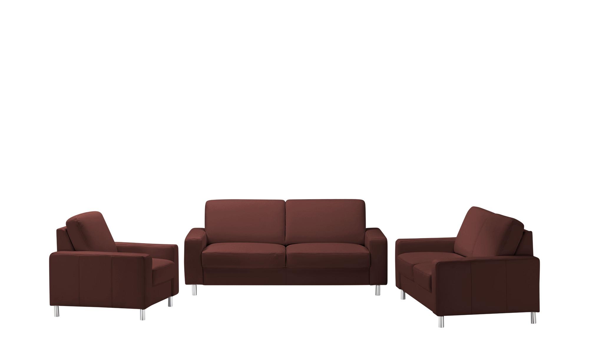 meinSofa Sitzgruppe  Byron ¦ rot Polstermöbel > Sofas > Sitzgruppen - Höffner