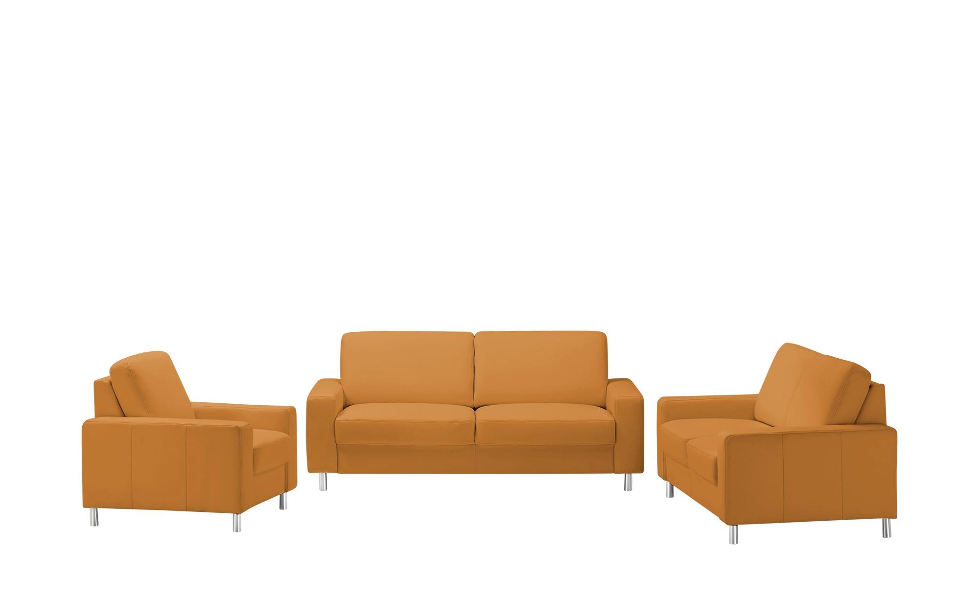 meinSofa Sitzgruppe  Byron ¦ orange Polstermöbel > Sofas > Sitzgruppen - Höffner