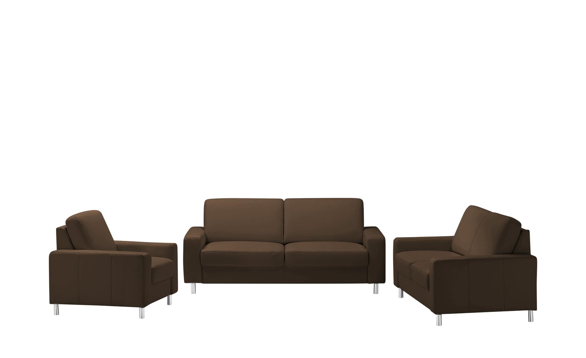 meinSofa Sitzgruppe  Byron ¦ braun Polstermöbel > Sofas > Sitzgruppen - Höffner