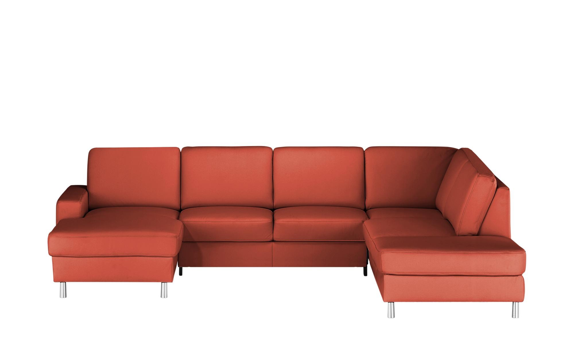 #meinSofa Elementgruppe  Byron ¦ rot ¦ Maße (cm): H: 86 Polstermöbel > Sofas > Wohnlandschaften – Höffner#