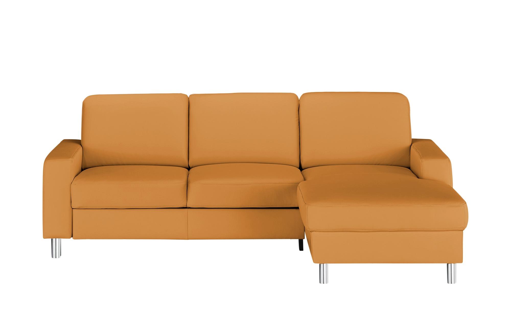 meinSofa Elementgruppe  Byron ¦ orange ¦ Maße (cm): H: 86 Polstermöbel > Sofas > Ecksofas - Höffner