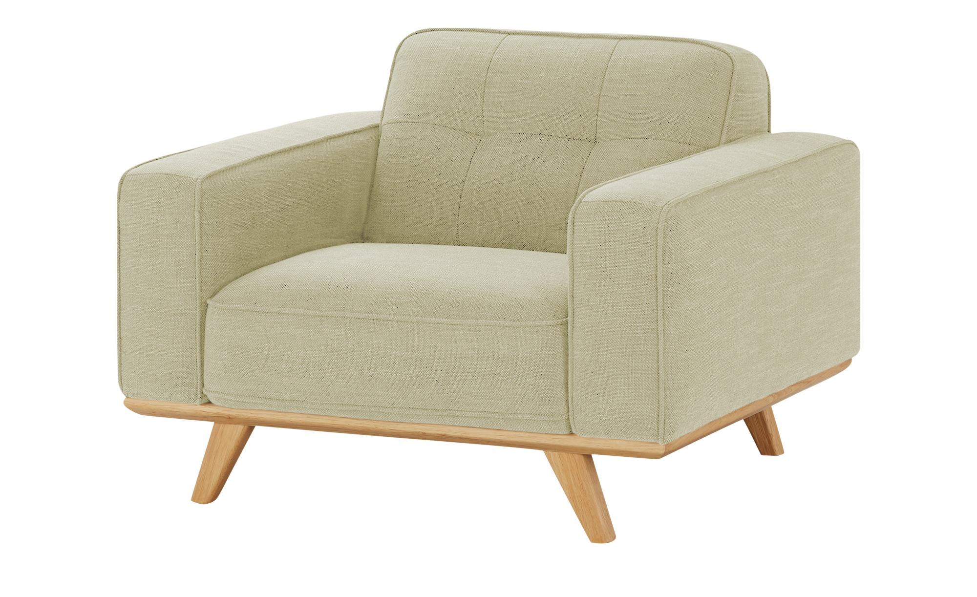 uno Sessel  Caralina ¦ beige ¦ Maße (cm): B: 112 H: 78 T: 95 Polstermöbel > Sessel > Polstersessel - Höffner