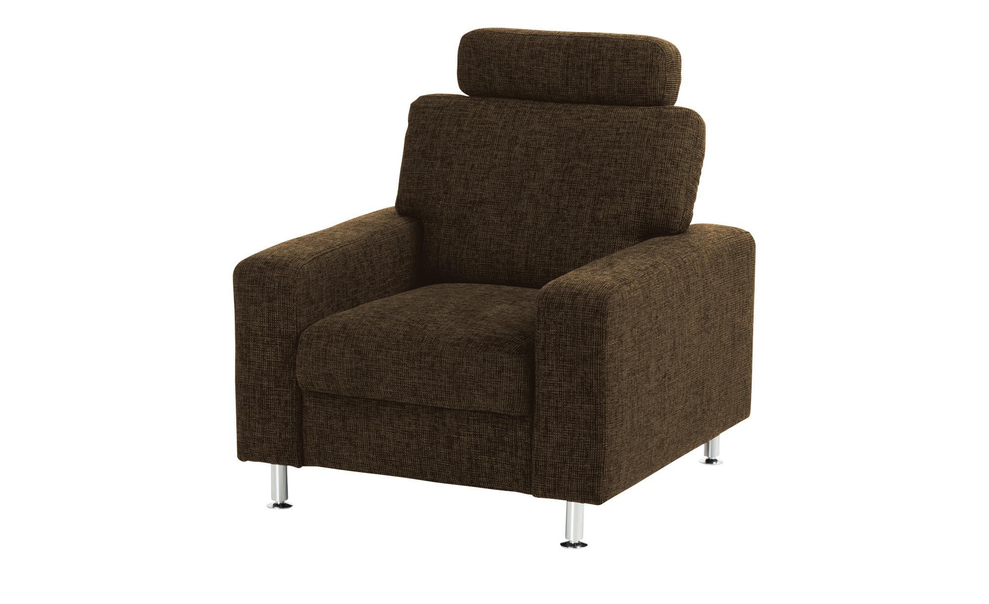 meinSofa Polstersessel   Jana ¦ braun ¦ Maße (cm): B: 88 H: 85 T: 95 Polstermöbel > Sessel > Polstersessel - Höffner