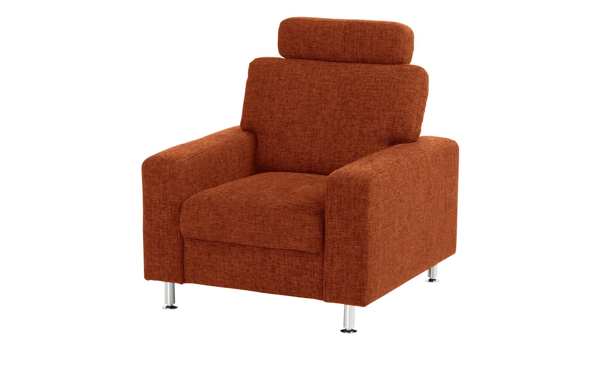 meinSofa Polstersessel   Jana ¦ orange ¦ Maße (cm): B: 88 H: 85 T: 95 Polstermöbel > Sessel > Polstersessel - Höffner