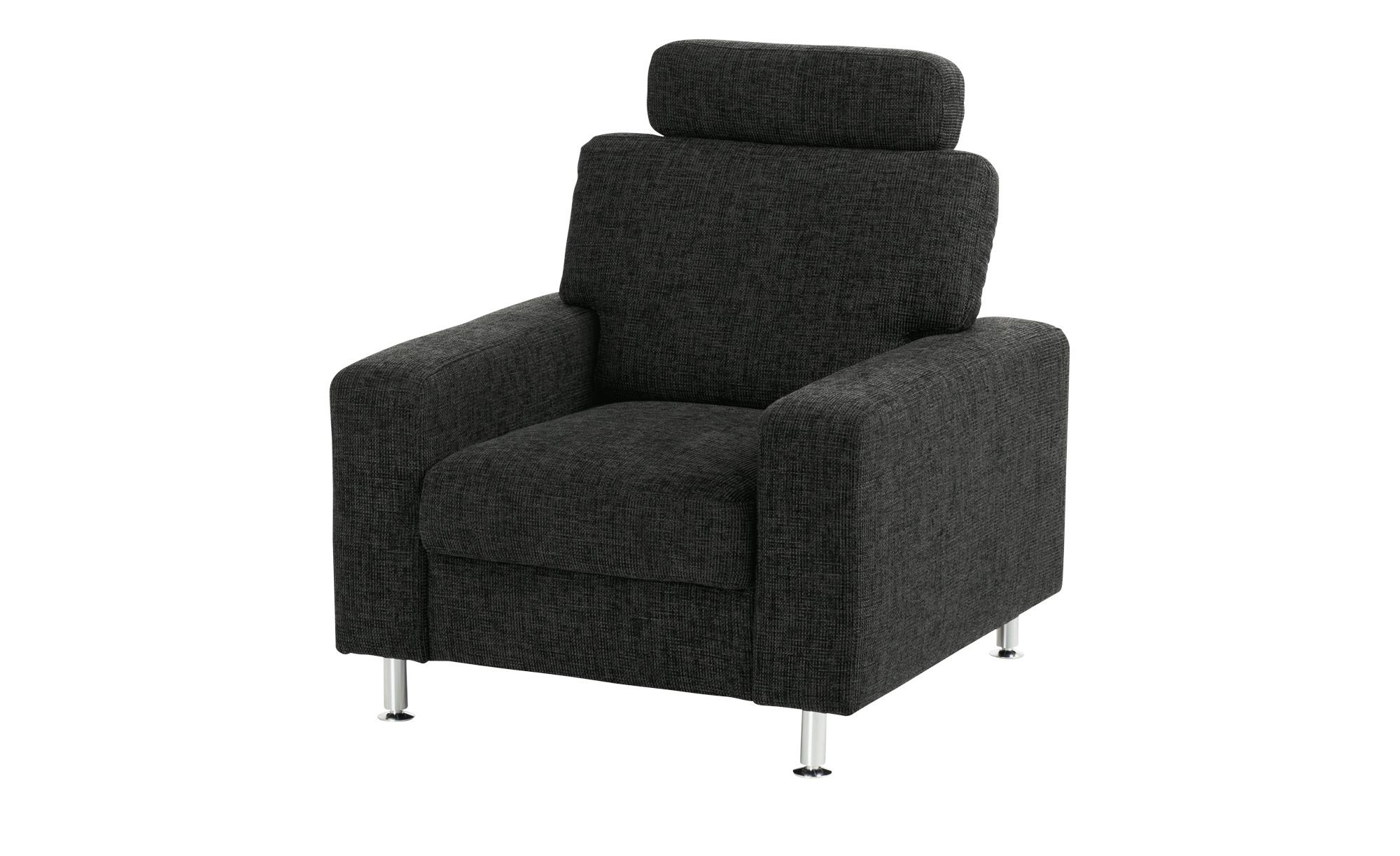 meinSofa Polstersessel   Jana ¦ schwarz ¦ Maße (cm): B: 88 H: 85 T: 95 Polstermöbel > Sessel > Polstersessel - Höffner