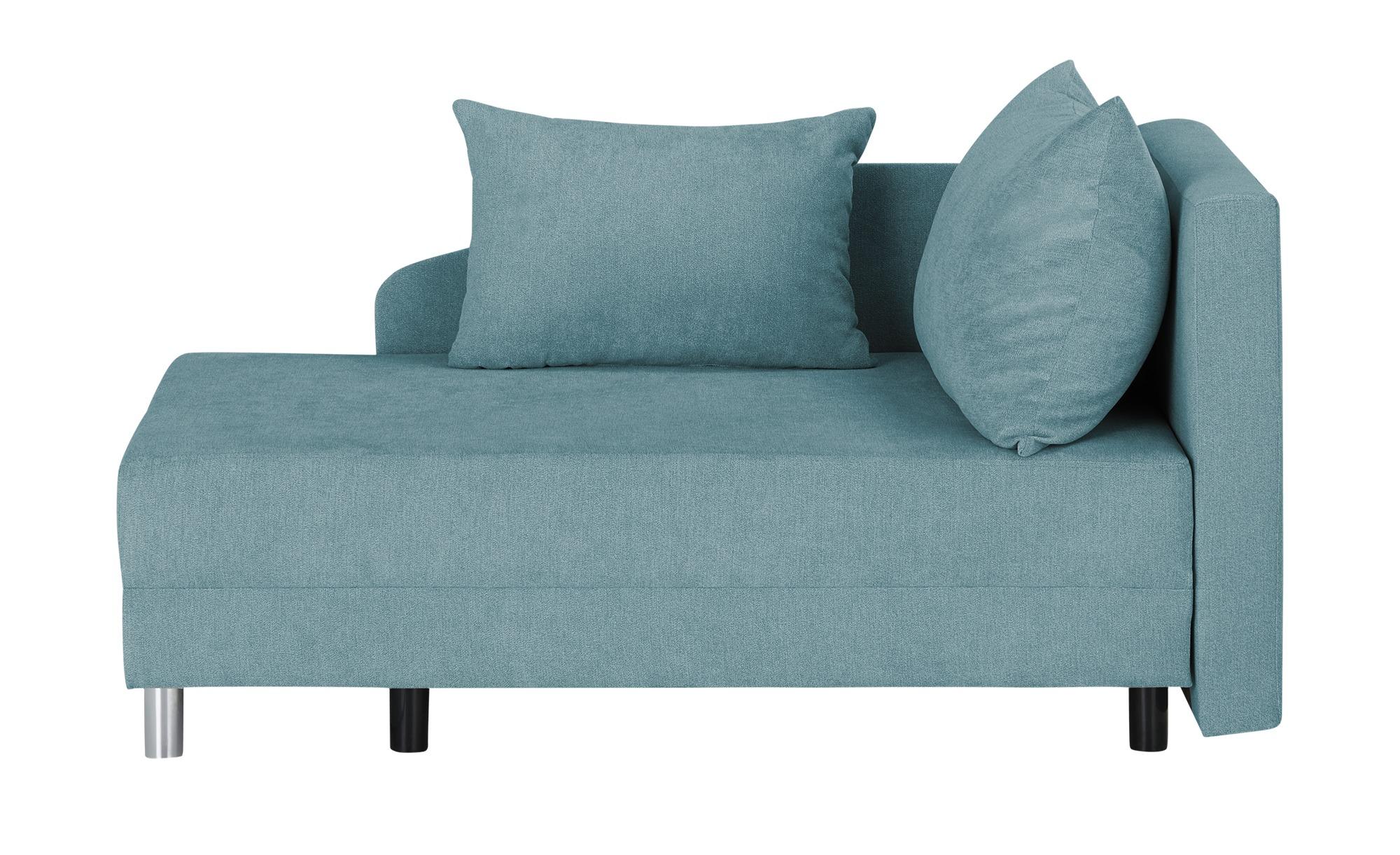 Ottomane  Aleksandra ¦ blau ¦ Maße (cm): B: 145 H: 82 T: 84 Polstermöbel > Sofas > Einzelsofas - Höffner