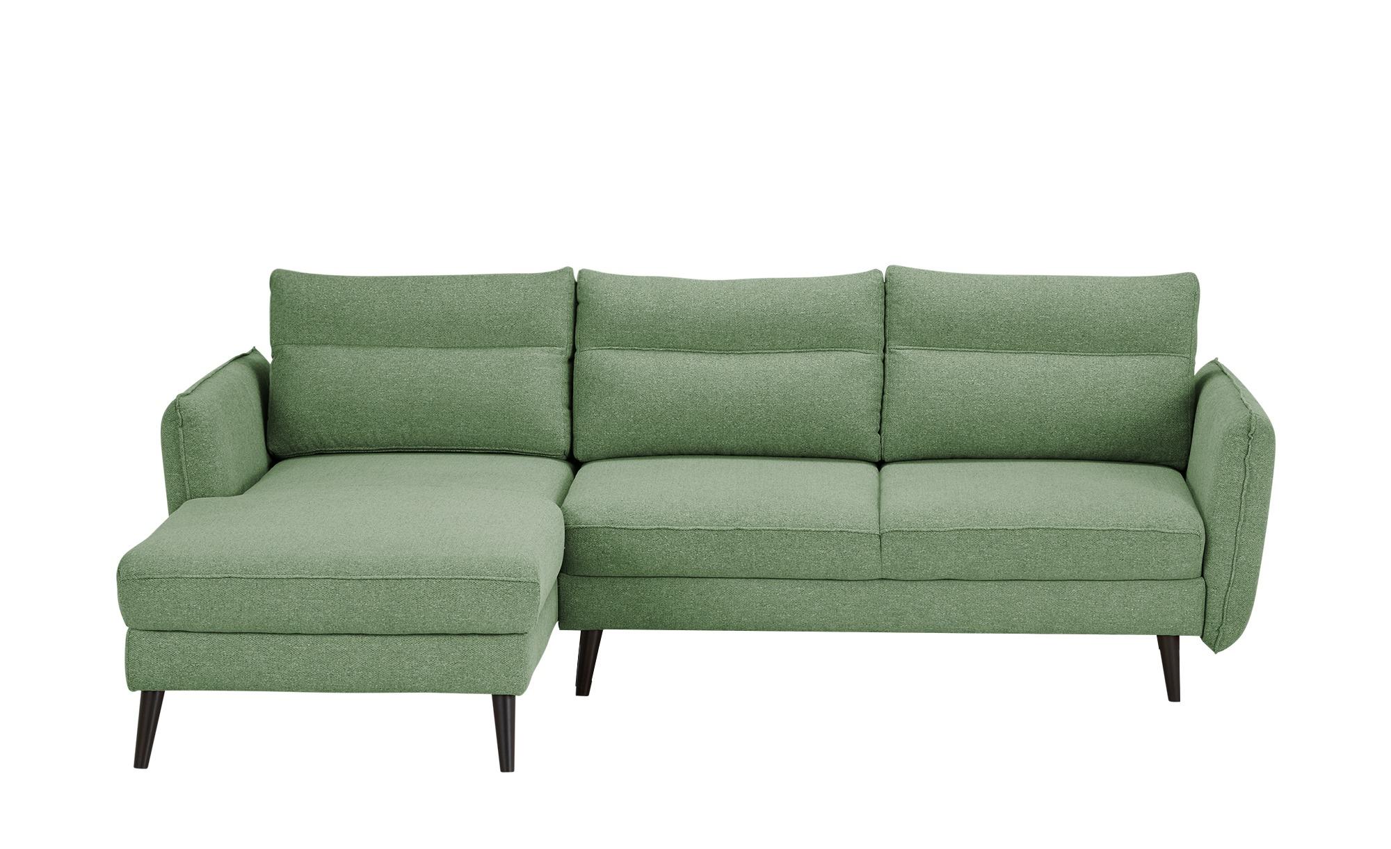 switch Ecksofa  Caramello ¦ grün ¦ Maße (cm): H: 86 Polstermöbel > Sofas > Ecksofas - Höffner