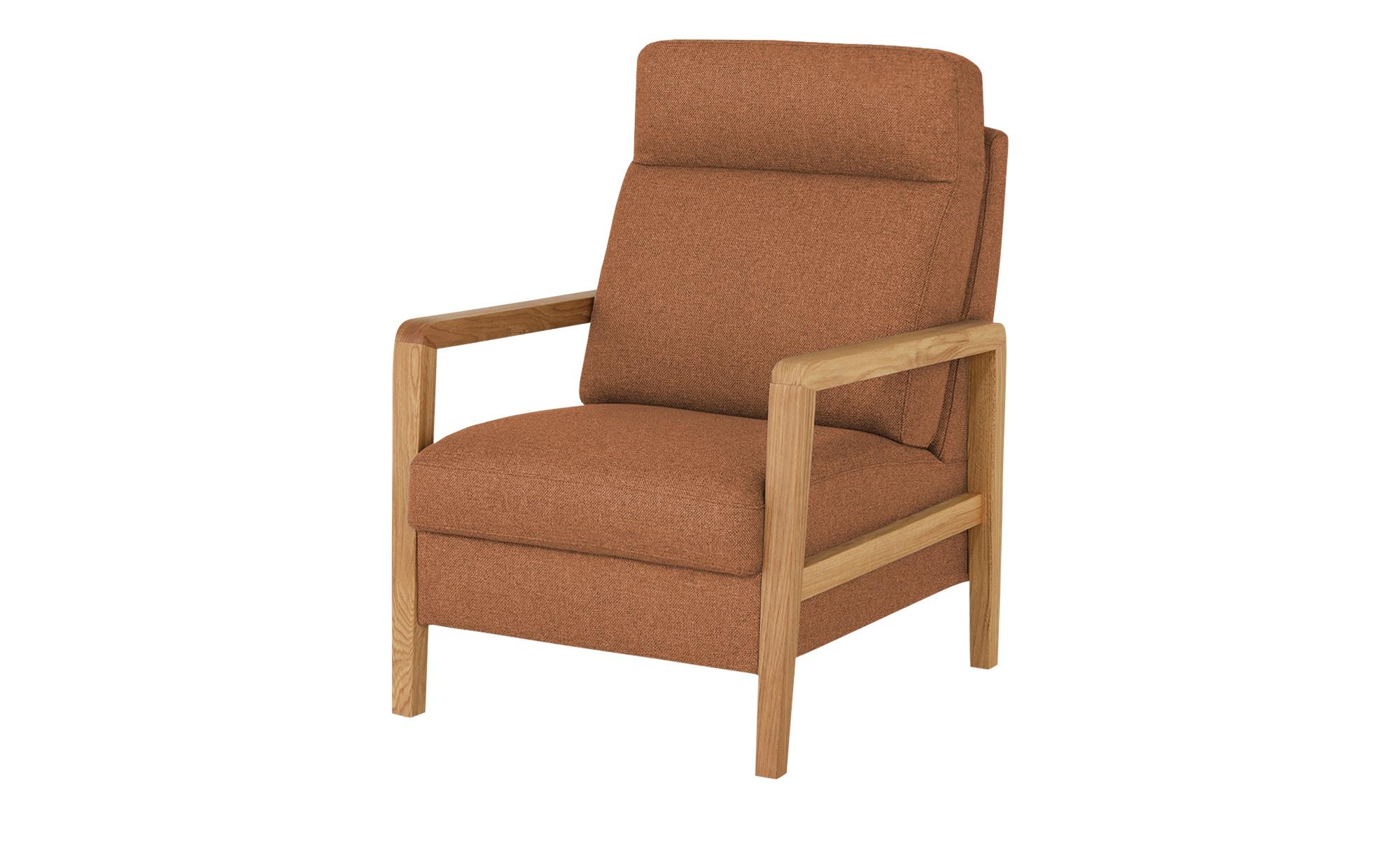 Wohnwert Sessel  Petra ¦ orange ¦ Maße (cm): B: 71 H: 103 T: 89 Polstermöbel > Sessel > Polstersessel - Höffner